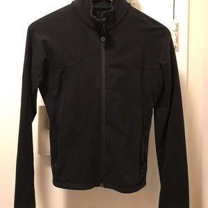 Lulu lemon black zip up hoodie